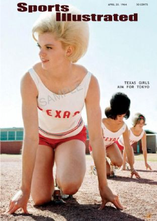 Texas All-Girls track team 1964 sports illustrated cover
